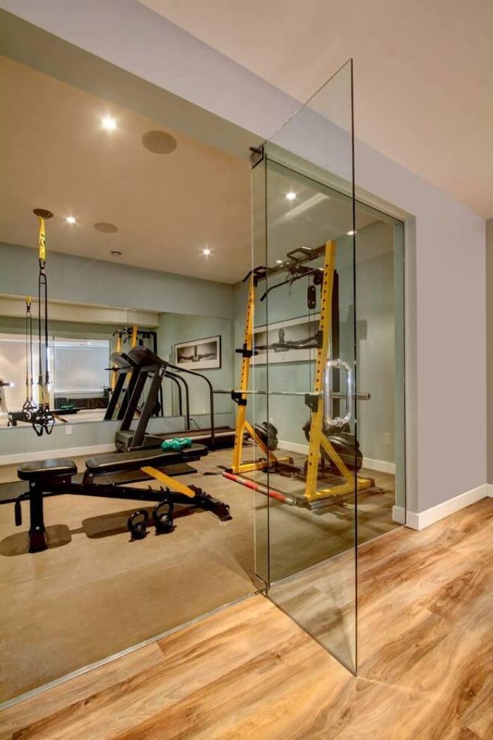 cheap basement ceiling ideas - 13. Use Mirrors - Harptimes.com