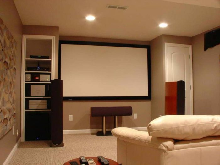 cheap basement ceiling ideas - 5. Paint the ceiling color down onto the walls - Harptimes.com