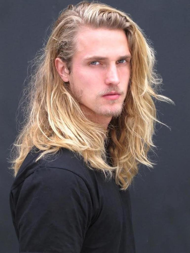 Long Hairstyles for Men - Long Hairstyle For Blonde - Harptimes.com