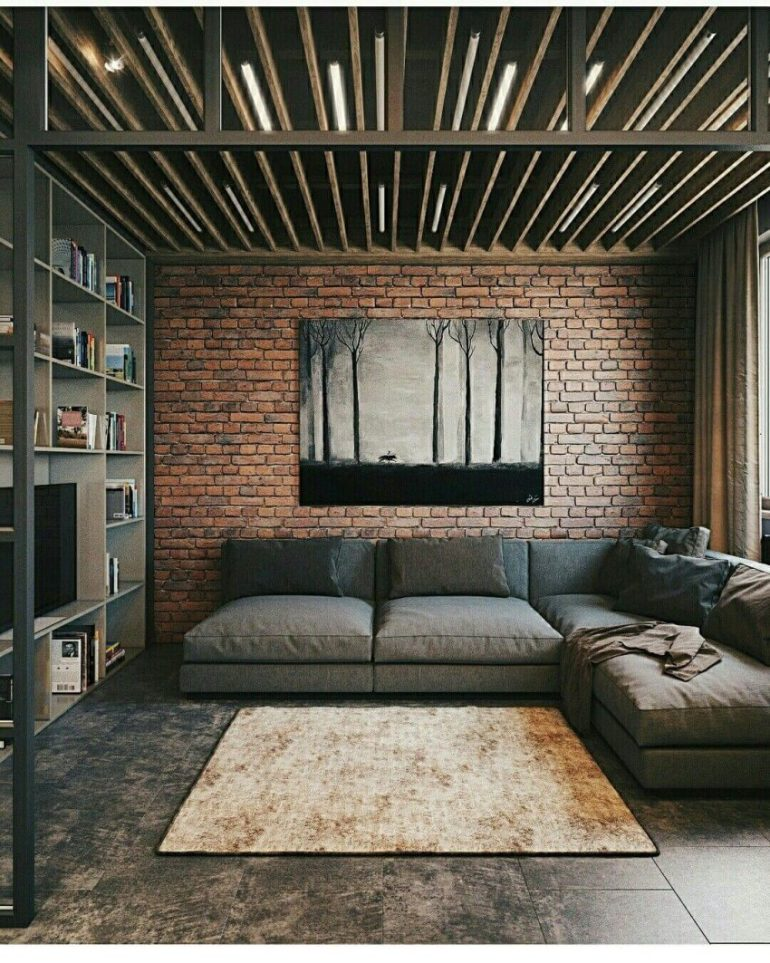 low basement ceiling ideas - 24. Use a Wood Beam Ceiling - Harptimes.com