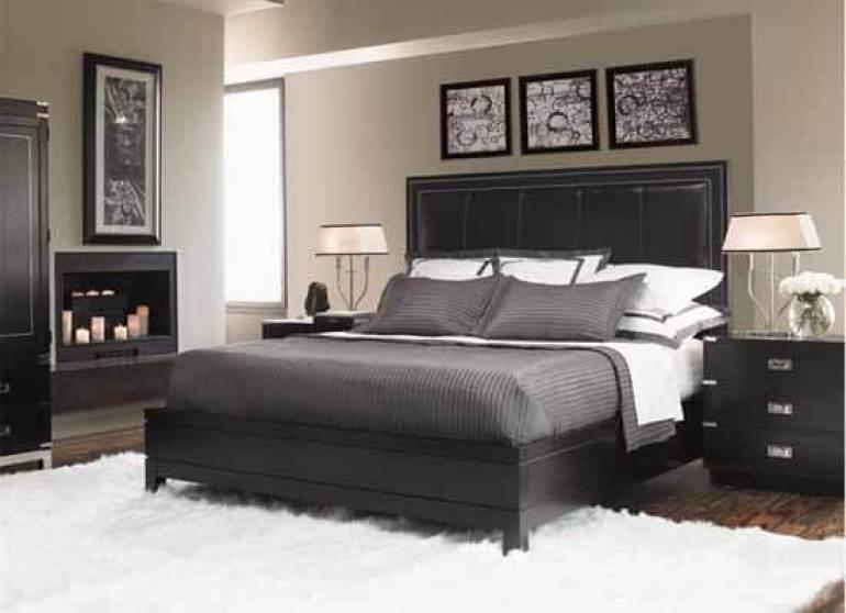 master bedroom ideas modern - 16. Fascinating White Decoration for Master Bedroom - Harptimes.com