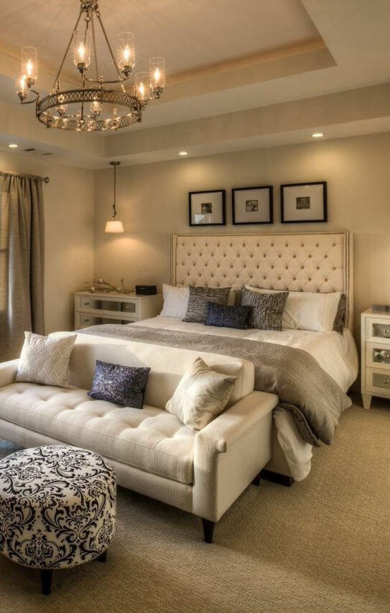 master bedroom ideas modern - 26. Stylish Master Bedroom Heritage - Harptimes.com