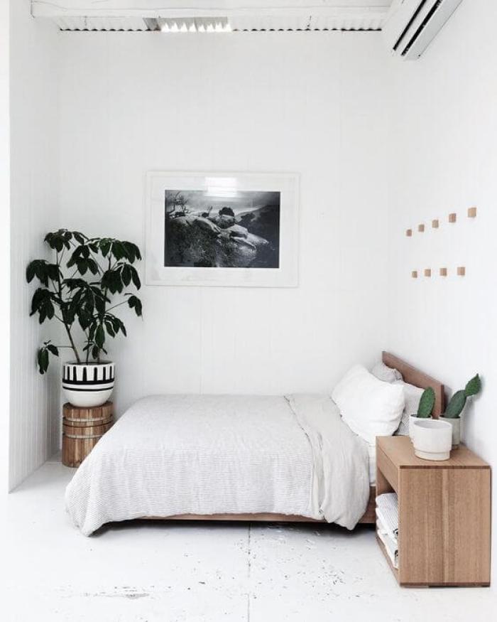 coastal master bedroom ideas - 3. Modern Scandinavian Master Bedroom Ideas - Harptimes.com