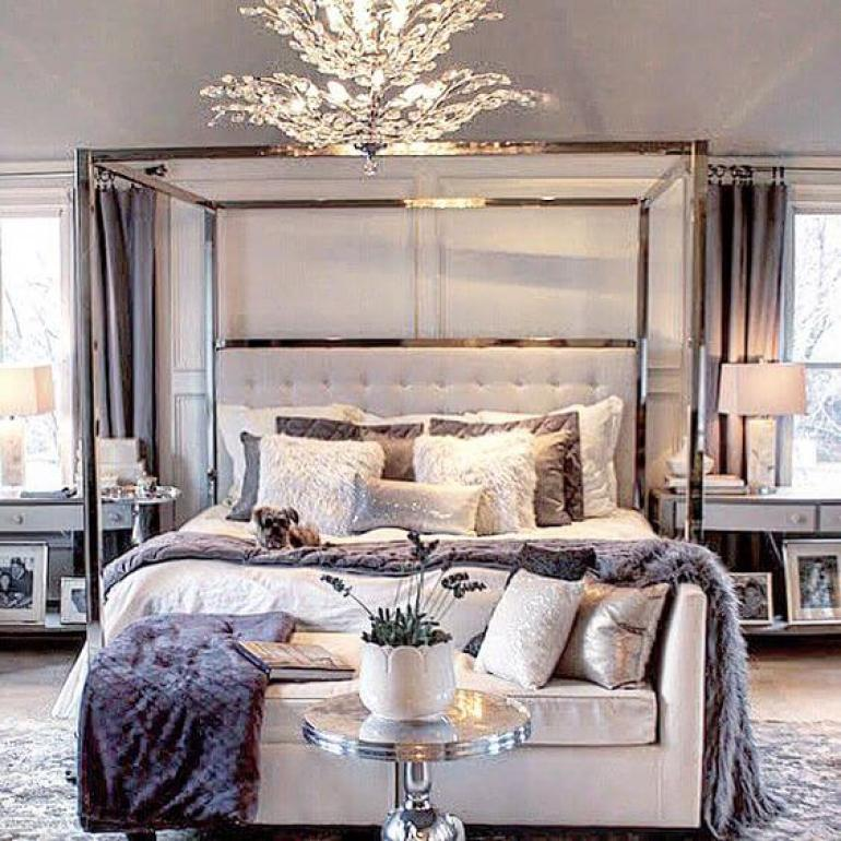 11. Luxurious Decor for Master Bedroom Ideas - Harptimes.com