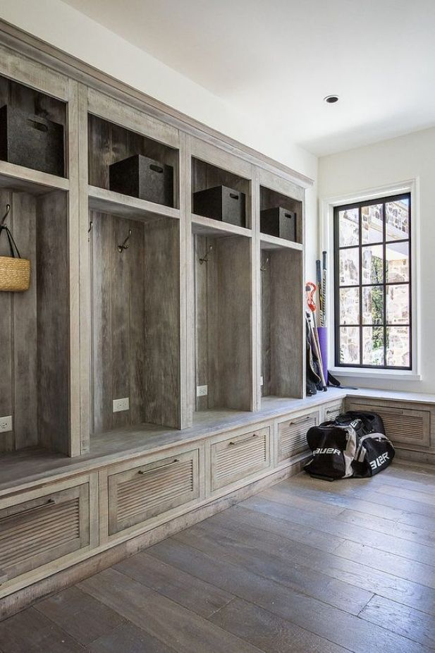 laundry mudroom ideas - 16. Drop Zone Organizer Mudroom - Harptimes.com