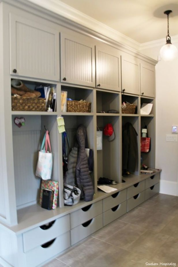 4. Small Closet Mudroom Ideas - Harptimes.com