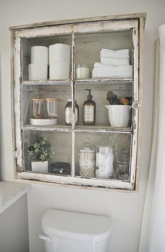 Bathroom Cabinet Ideas Shabby Chic Bathroom Shelves - Harptimes.com