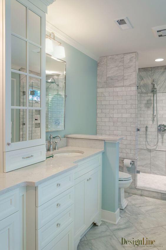 Bathroom Color Paint Ideas Coastal Style Master Bathroom Ideas - Harptimes.com