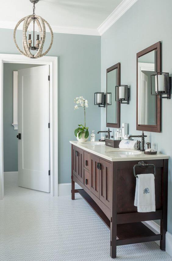 Bathroom Color Paint Ideas Gray Wisp Wall Color for Bathroom - Harptimes.com