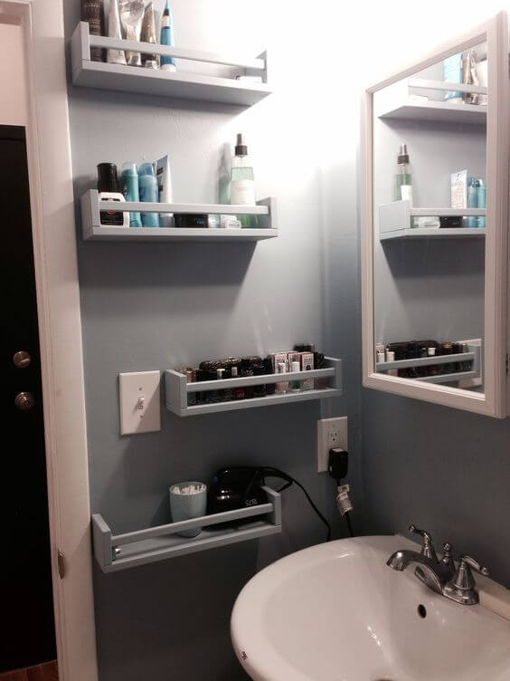 Bathroom Storage Ideas Pedestal Sink Storage Ideas - Harptimes.com