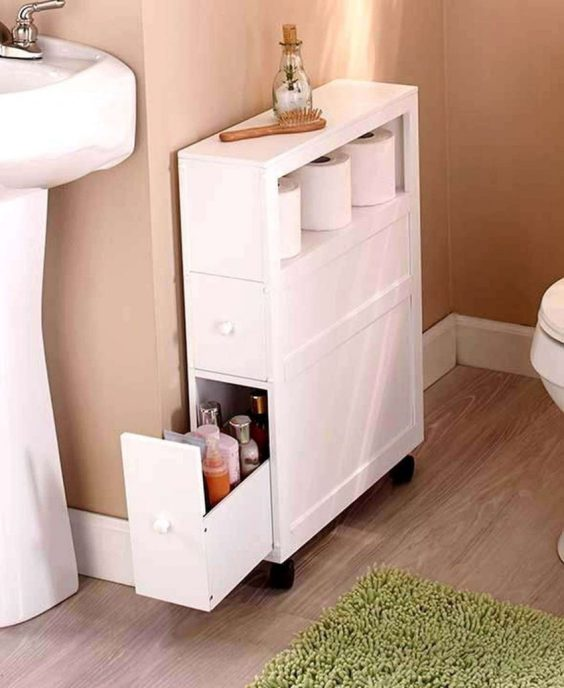 Bathroom Storage Ideas Slim Storage for Bathroom - Harptimes.com