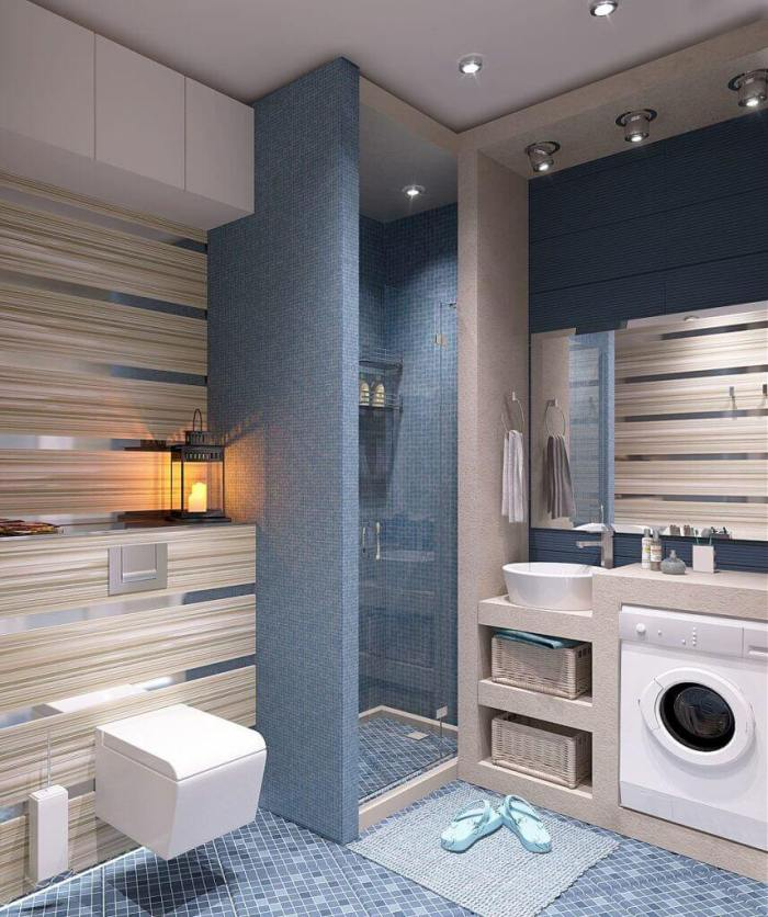 Cool Basement Bathroom Laundry Room Ideas by Harptimes.com