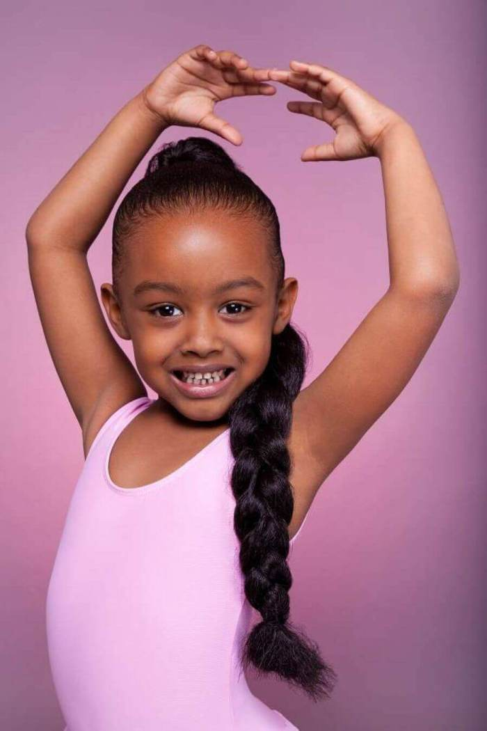 Big Braided Little Black Girl Hairstyles