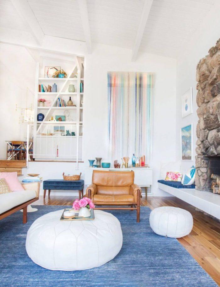 Boho Modern Living Room Design Ideas