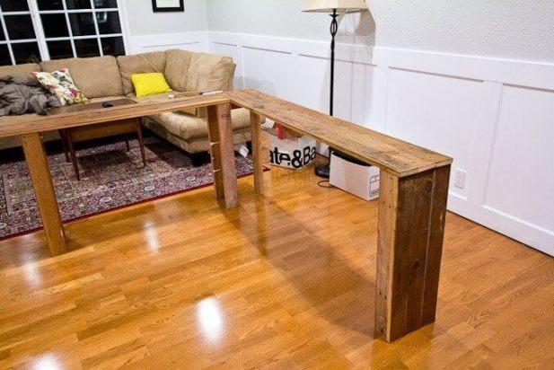 Corner Sofa Table Decor Ideas