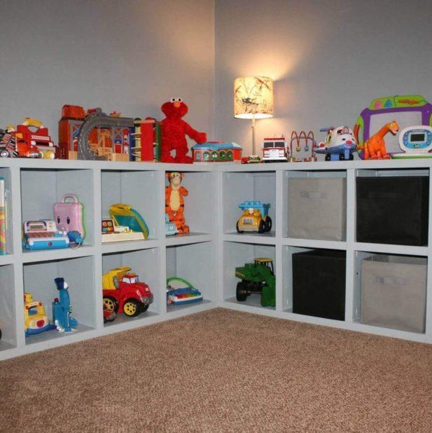 Cubbies Basement Storage Ideas