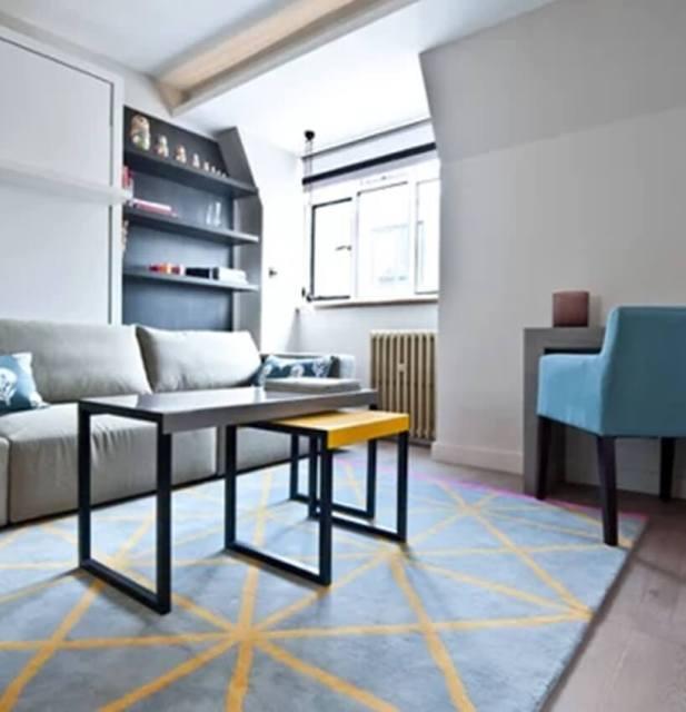 Double Minimalist Sofa Table Decor Ideas