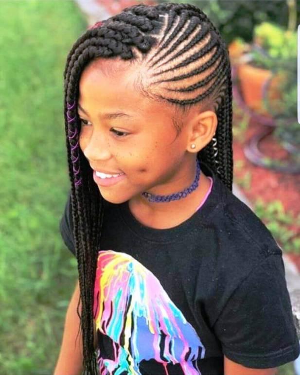 Little Black Girl Hairstyles Lemonade Braids