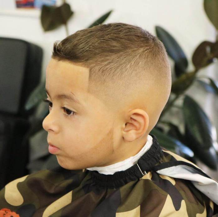 Military Haircut for Baby Boy Hairstyles