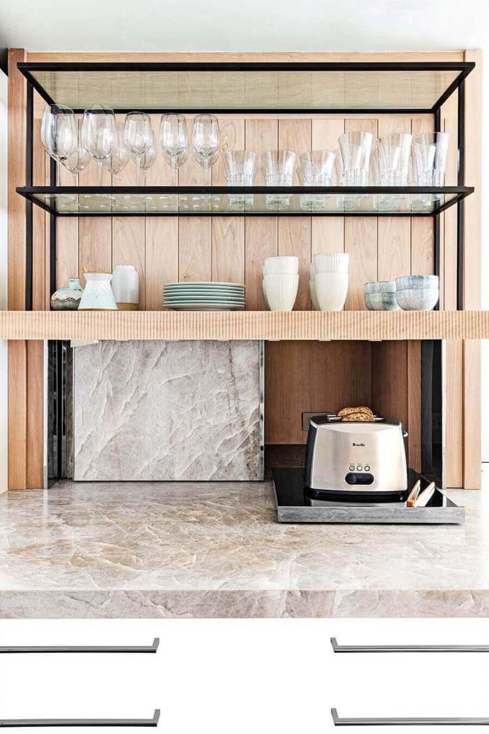 Cheap Kitchen Storage Ideas 9 Hide Appliances