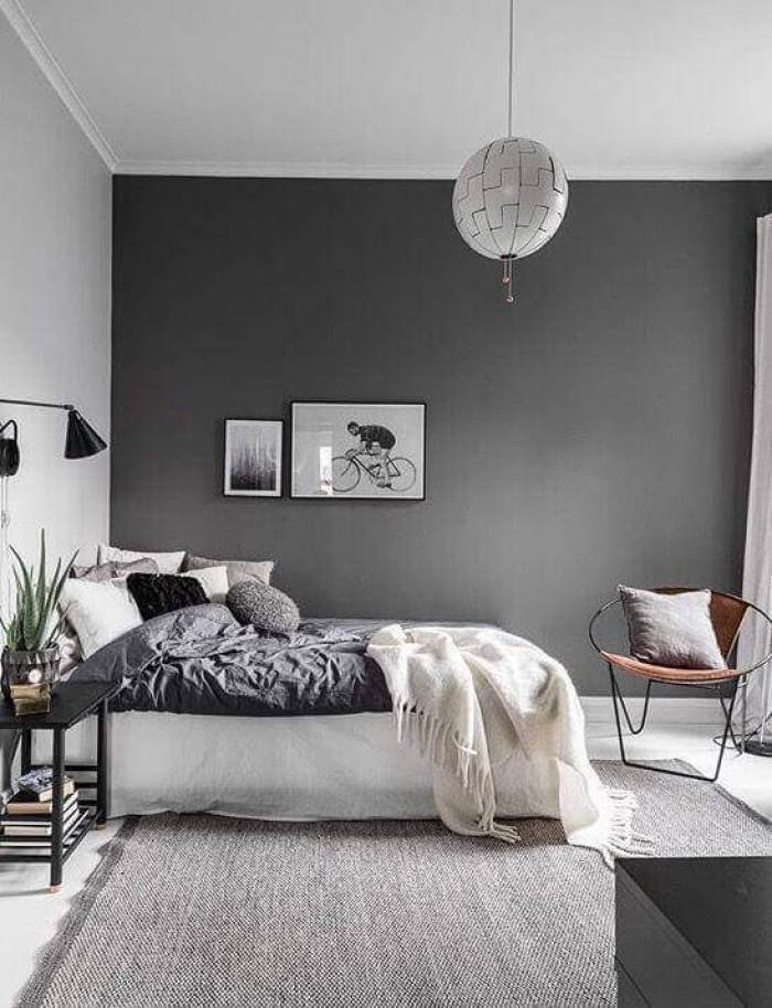 Bedroom Paint Colors A Few Shades of Grey - Harptimes.com