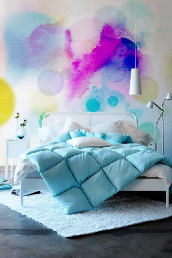 Bedroom Paint Colors Rainbow in a Bedroom - Harptimes.com