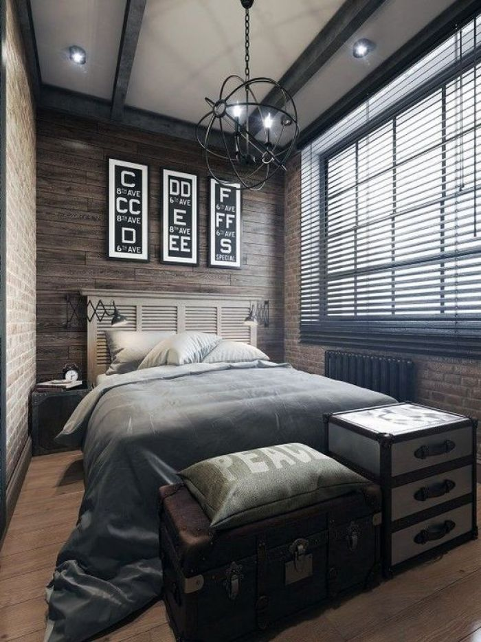 Boys Bedroom Ideas Antique Industrial Charm - Harptimes.com