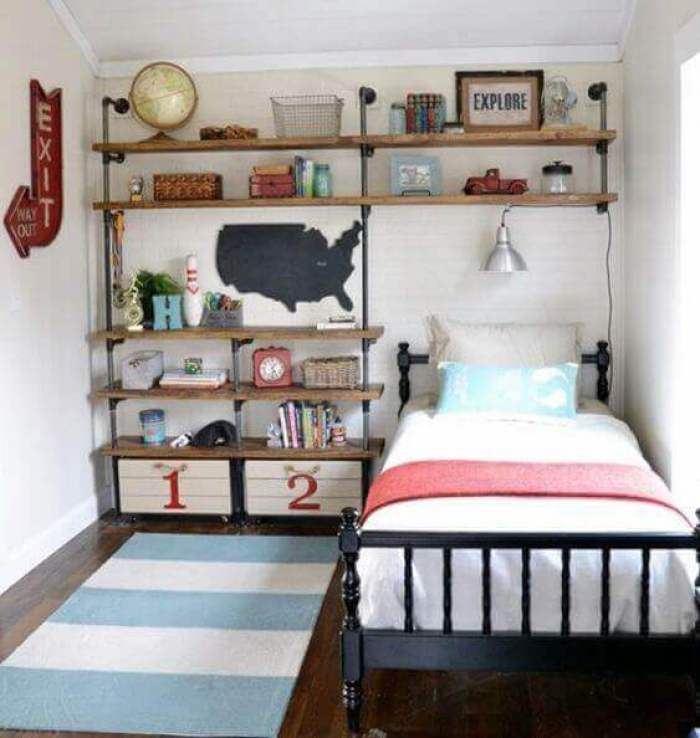 Boys Bedroom Ideas Bring The Industrial Age Back - Harptimes.com