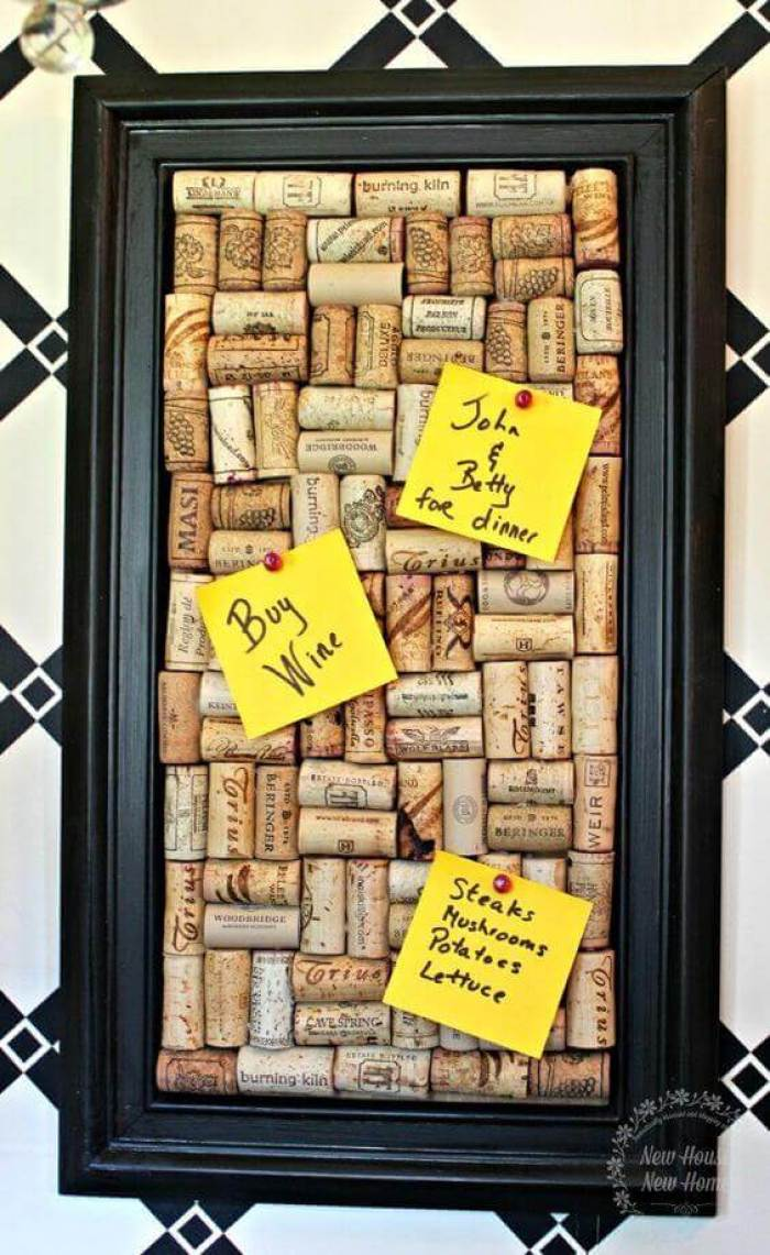 Cork Board Ideas Frame The Corks - Harptimes.com