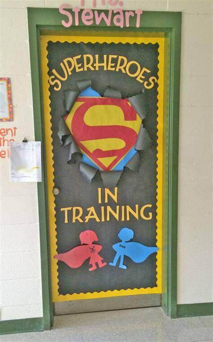 Cork Board Ideas Superhero Goals - Harptimes.com