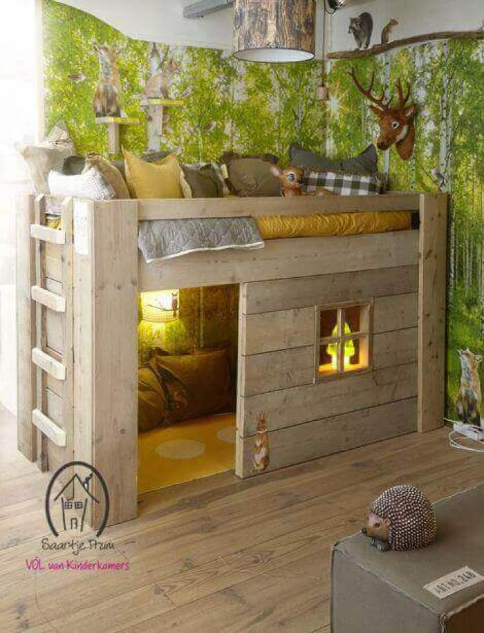 Kids Bedroom Ideas Epic Woodland - Harptimes.com
