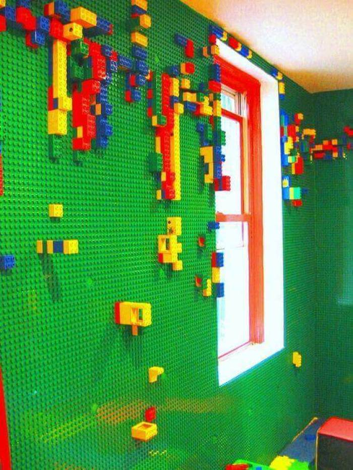 Kids Bedroom Ideas Fantastic Lego World - Harptimes.com