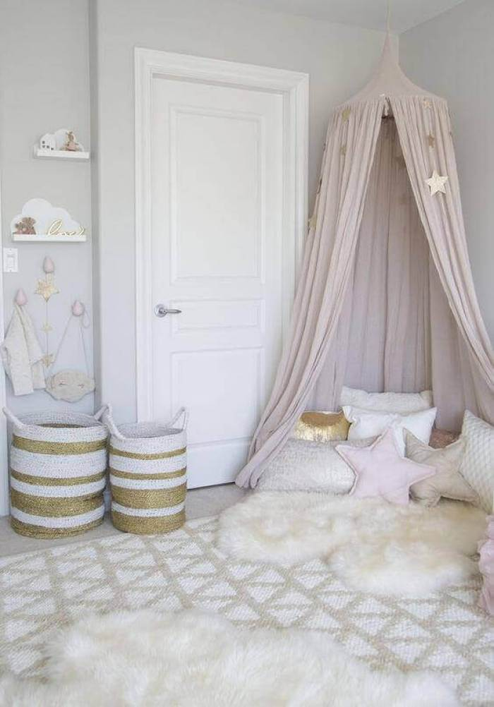Playful Cute Kid Girl Bedroom Ideas Toddler - Harptimes.com