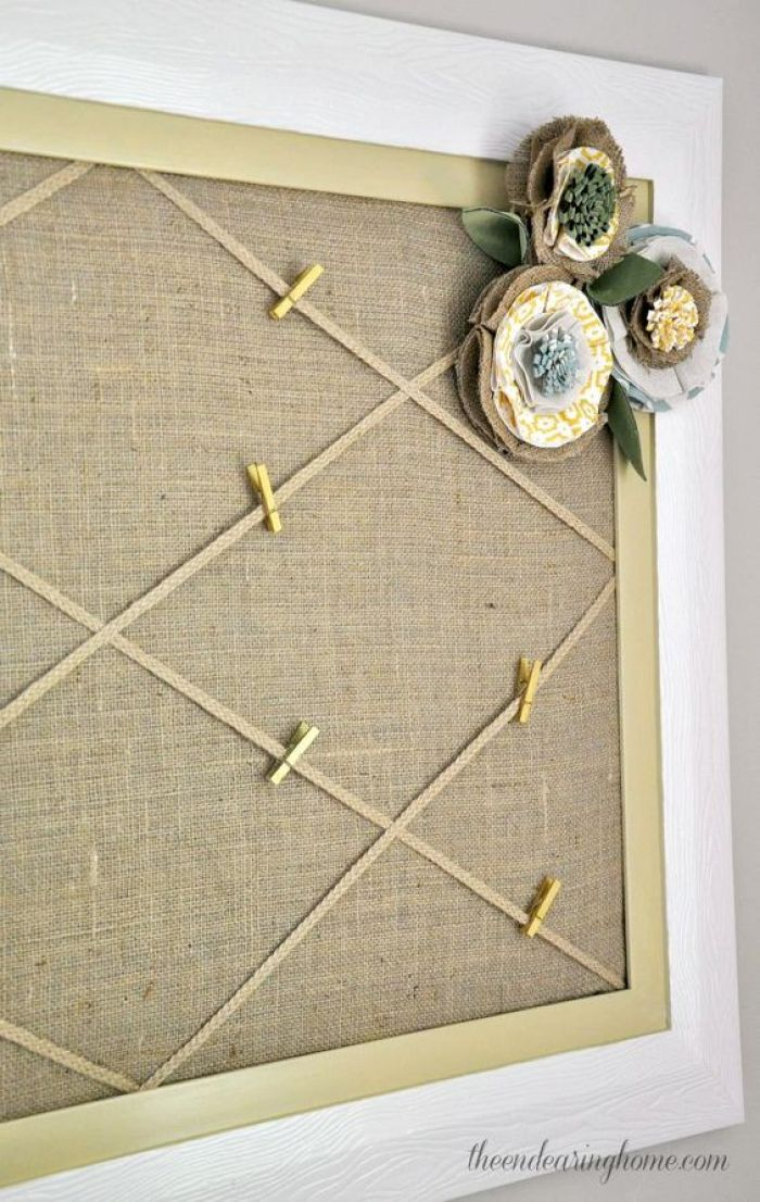 Shabby Chic Cork Board Ideas - Harptimes.com