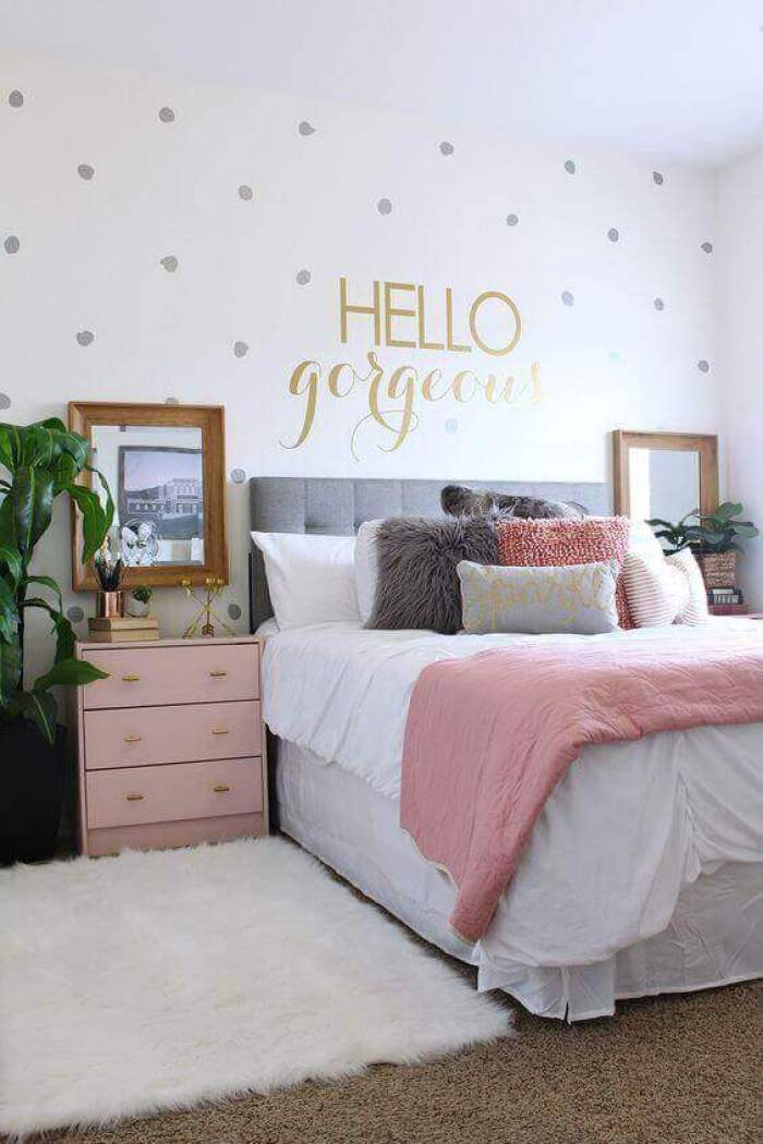 Spacious Spacious Cute Girl Bedroom Ideas Wallpaper - Harptimes.com