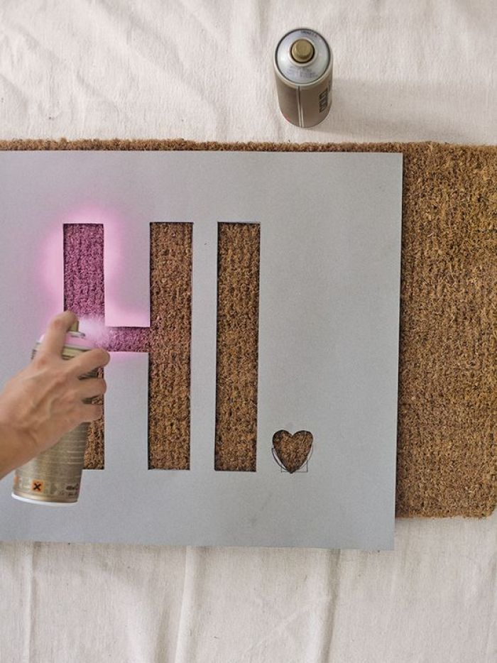 Stencil Your Cork Board Ideas - Harptimes.com