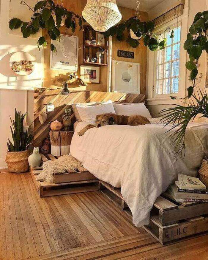 Timber Themed Design for Small Bedroom Ideas - Harptimes.com