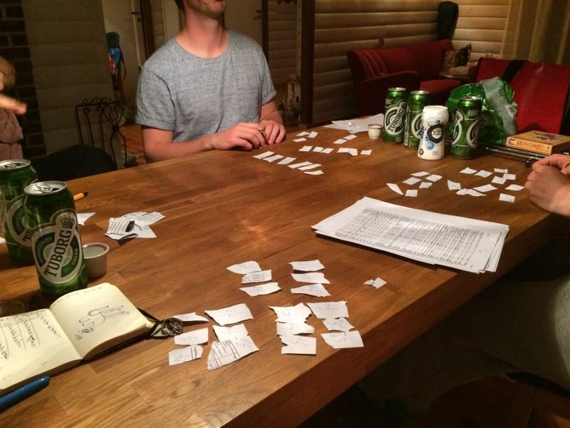 Alkohol Tuborg Gesellschaftsspiele Norwegen Abend