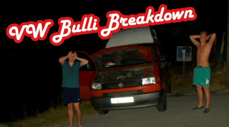 VW Bus T3 T4 T5 Panne Unfall Reisebericht Südfrankreich Reisebericht Bulli Roadtrip