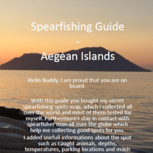 Aegean-Islands-Spearfishing-Cover-Ägäische-Inseln-Harpune-Ägäis-Harpunieren-Speargun-GER
