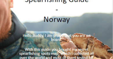 Spearfishing Norway Norwegen Spots Karten Spot Fischen Angeln Fishing