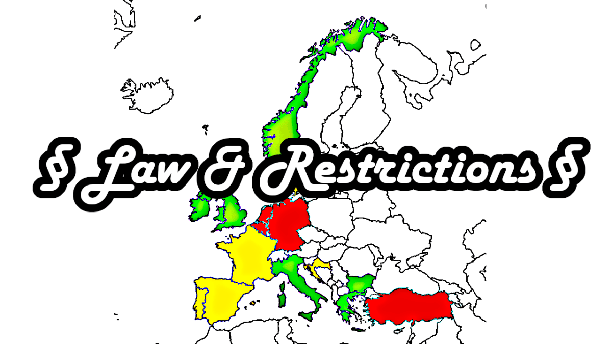 Spearfishing in Europe - Law, Rules and Restrictions - countries