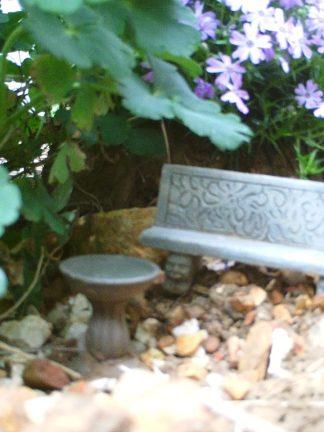 A tiny resting place . . .