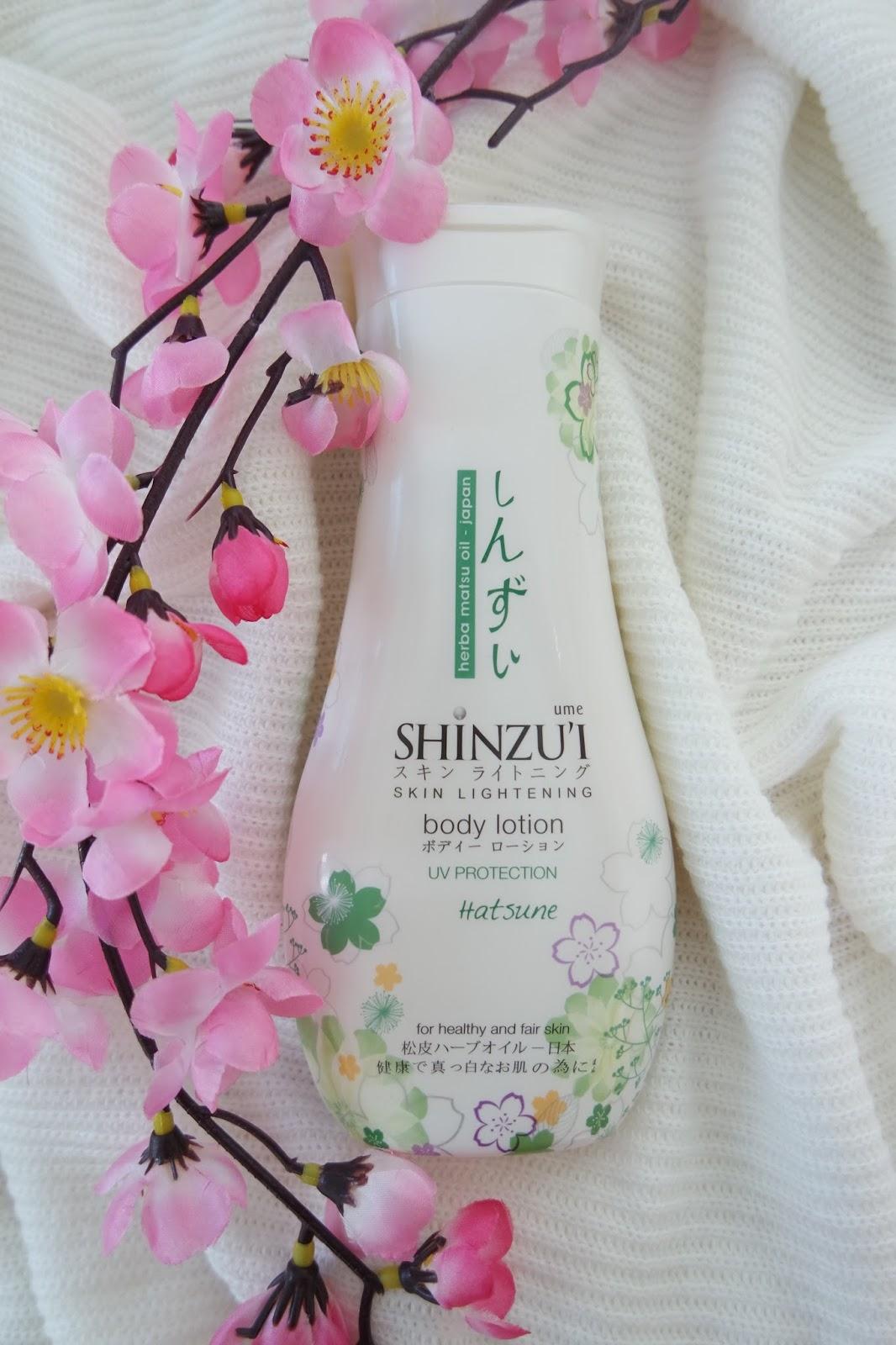Manfaat Dan Kegunaan Dari Shinzui Lightening Body Cleanser Termasuk Lotion