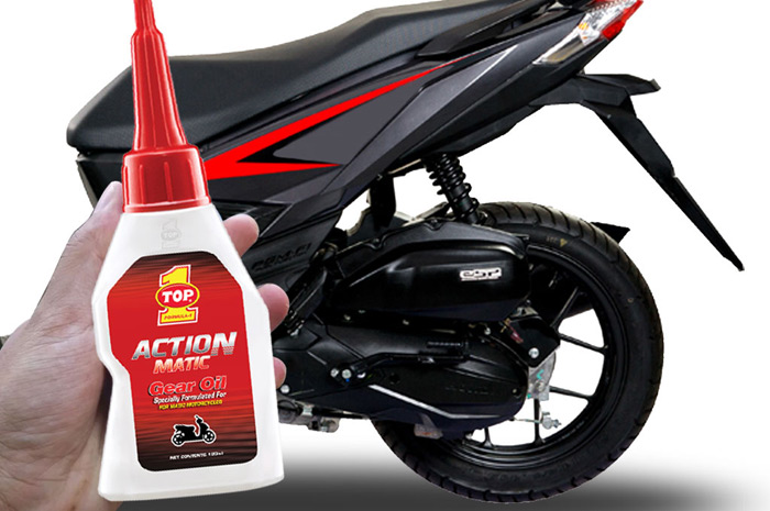 KEUNGGULAN OLI MOTOR MATIC TOP 1