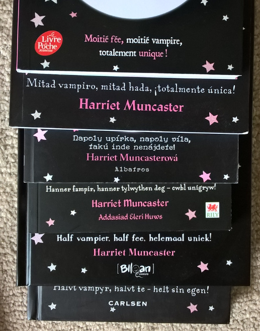 Isadora Moon foreign editions slogans