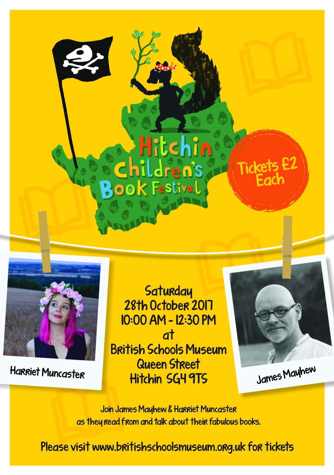 Hitchin Children's Book Festival Poster