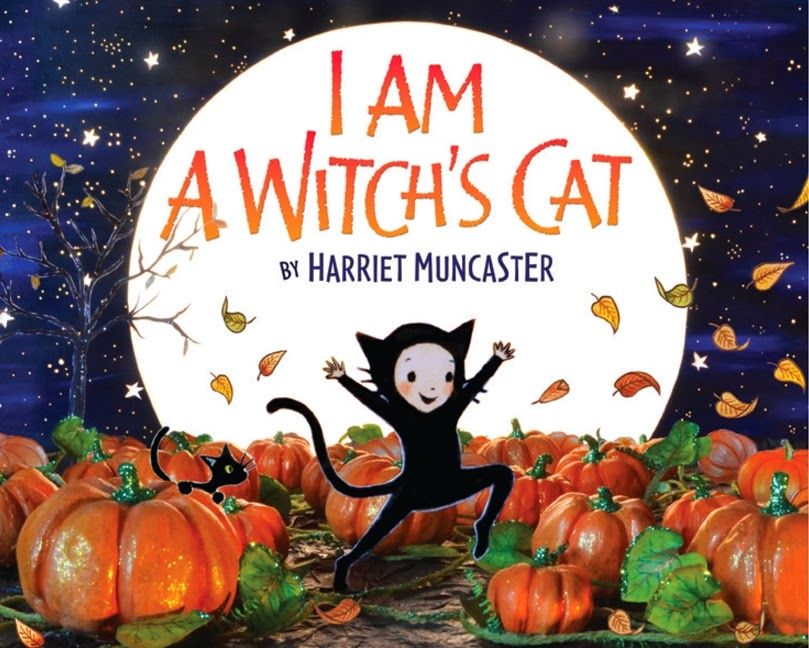 I am a witch's cat cover by Harriet Muncaster