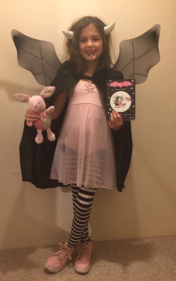 Isadora Moon Halloween Costume Competition Winner
