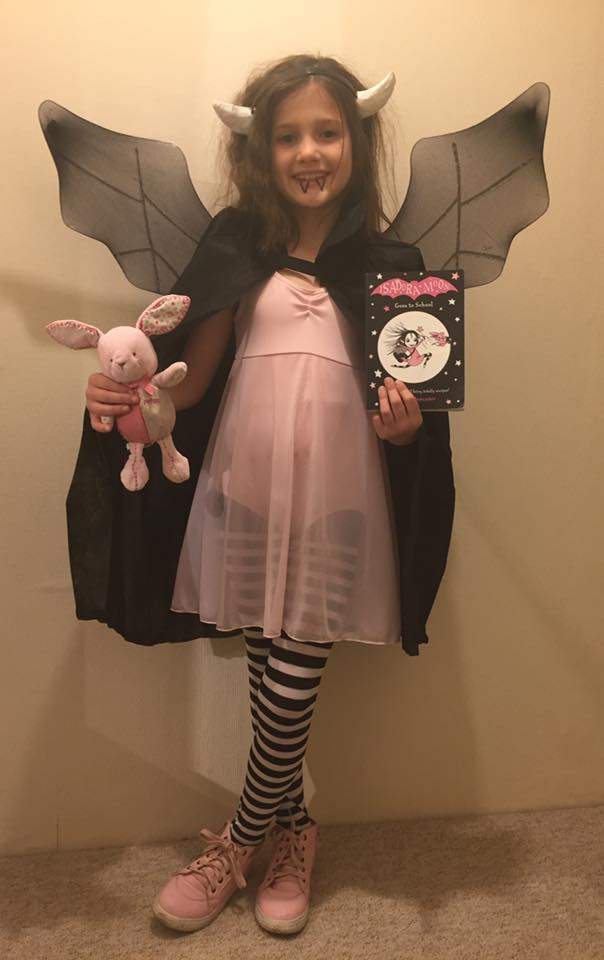 Isadora Moon Halloween Costume Competition Winner